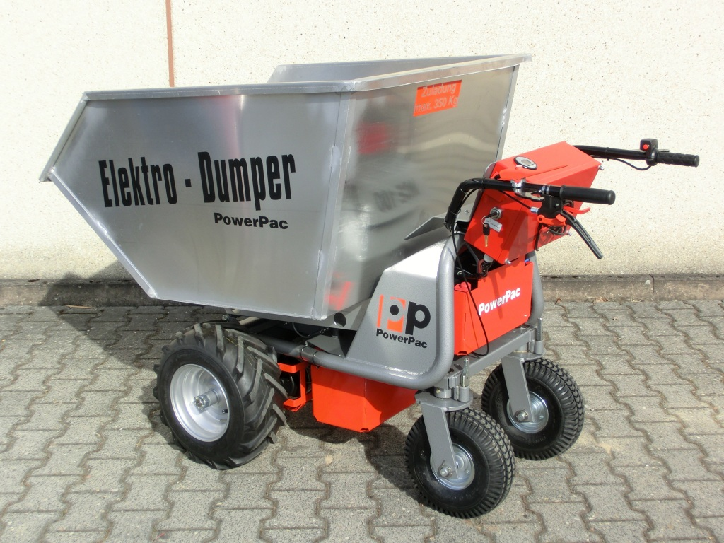 small transporter machines - motorised wheelbarrow, electric